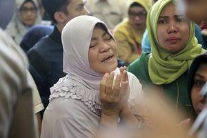 Indonesia: Rơi máy bay, 189 người có thể đã thiệt mạng