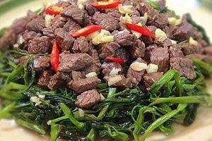 Vì sao ăn thịt trâu có thể gây ngộ độc?
