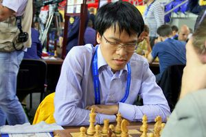 Lê Quang Liêm xếp hạng 10 chung cuộc giải cờ Isle of Man