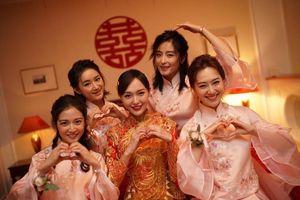 Lộ ảnh cưới hiếm hoi của La Tấn - Đường Yên
