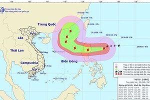 Bão Yutu mạnh cấp 12, di chuyển nhanh vào Biển Đông