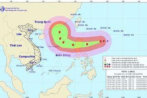 Siêu bão Yutu hướng vào Biển Đông