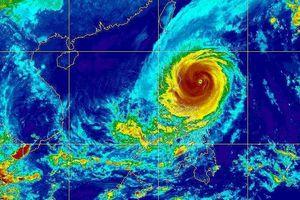 Khẩn cấp ứng phó siêu bão Yutu vào biển Đông