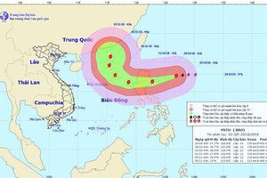 Tin bão mới nhất hôm nay: Siêu bão Yutu cách đảo Lu-Dông 320km, giật cấp 16