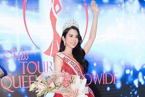 Huỳnh Vy đăng quang Miss Tourism Queen Worldwide 2018