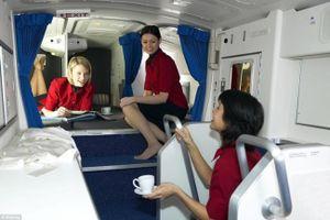 Những căn phòng bí mật ít ai ngờ tới trên máy bay
