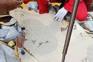 Đã phát hiện những mảnh vỡ máy bay Lion Air đâm xuống biển