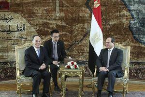 Ai Cập và Trung Quốc phát triển quan hệ đối tác chiến lược toàn diện