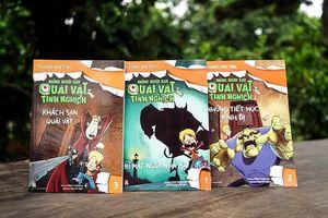 3 tác phẩm văn học dành cho thiếu nhi mùa Halloween 2018