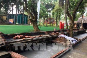 Yêu cầu tháo dỡ khu sinh thái vi phạm quy hoạch Khu di tích Đền Hùng
