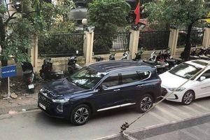 Hyundai SantaFe 2019 bất ngờ xuất hiện tại Hà Nội dù chưa ra mắt