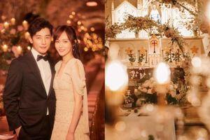 Cận cảnh lễ đường 'diễm lệ' như cung điện nơi diễn ra hôn lễ của cặp đôi đình đám Cbiz Đường Yên - La Tấn