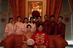 Hé lộ hình ảnh hiếm hoi hôn lễ cổ tích của Đường Yên - La Tấn