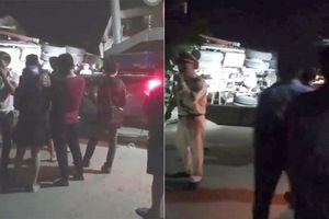Yên Bái: Container lao vào nhà dân trong đêm, 1 người tử vong