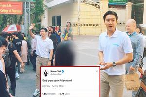 Nhanh như Choi Siwon 6 giờ sáng 'thả thính' tới Việt Nam đến trưa đã có mặt cùng hậu bối