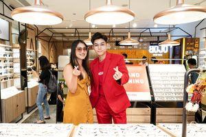 Soái ca '100 ngày yêu em' Jun Phạm diện vest đỏ nổi bật tại sự kiện
