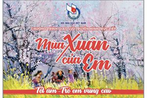 Chương trình 'Mùa xuân của em' mang tết ấm cho trẻ em vùng cao