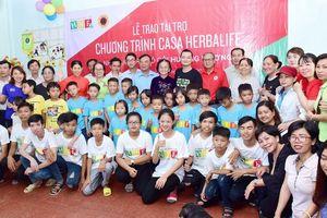 Quỹ HNF tiếp tục hỗ trợ dinh dưỡng cho trẻ em mồ côi tỉnh Hậu Giang