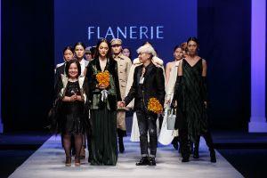 Catwalk trong Tuần lễ Thời trang Quốc tế Việt Nam, Hương Giang 'ẵm trọn' vị trí vedette của Flanerie