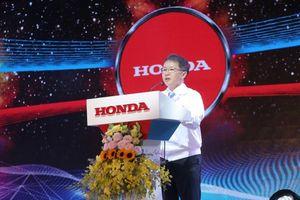 Honda cán mốc sản xuất 25 triệu xe máy tại Việt Nam
