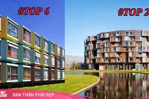 Cận cảnh những khu KTX sinh viên đẹp nhất thế giới: Nơi thiết kế độc lạ, nơi như khách sạn 5 sao