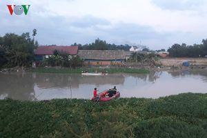 Tắm sông sau chầu nhậu, người đàn ông bị nước cuốn mất tích