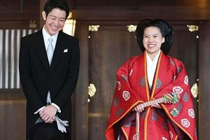 Ấn tượng đám cưới công chúa Nhật Bản từ bỏ tước vị để cưới thường dân