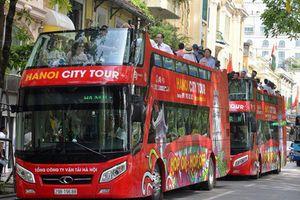Lượng khách đi xe buýt 2 tầng City Tour đạt thấp
