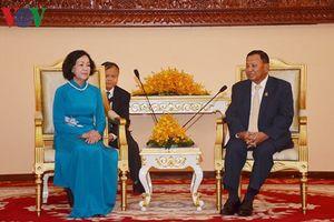 Việt Nam và Campuchia tăng cường hợp tác