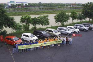 Ba tân binh của Toyota cùng đua về Tràng An