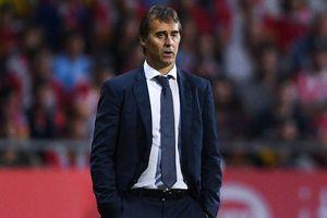 HLV Lopetegui gửi lời cảm ơn ban lãnh đạo Real sau khi bị sa thải