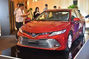 Toyota Camry 2019 ra mắt tại Đông Nam Á, giá từ 43.600 USD