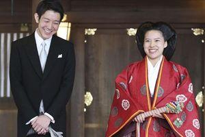 Đám cưới giản dị của công chúa Nhật Bản lấy thường dân