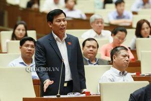 Đại biểu Quốc hội bật cười về phần trả lời chất vấn của Bộ trưởng Nguyễn Ngọc Thiện
