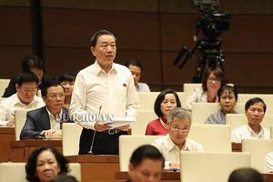 Bộ trưởng Tô Lâm trả lời chất vấn về vụ 'đổi 100 USD bị phạt 90 triệu đồng ở Cần Thơ'