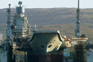 Tàu Kuznetsov hư hỏng nặng vì tai nạn khi sửa chữa?