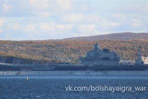 Lý do tàu sân bay Nga đang sửa chữa thì gặp họa