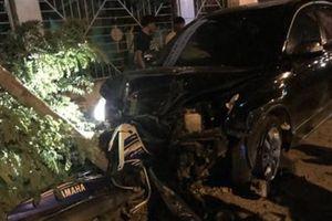 Phó trưởng CA thị xã gây tai nạn được đưa về nghỉ