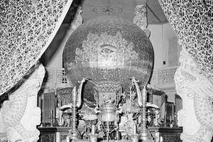 Hình độc về Tòa thánh Tây Ninh năm 1950