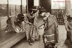 Loạt ảnh đặc biệt về phụ nữ Nhật Bản năm 1914
