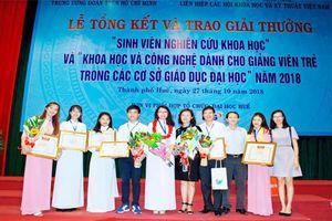 Trường ĐH Sư phạm, ĐH Thái Nguyên, giành nhiều giải cao tại sân chơi NCKH