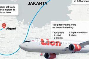 Chỉ 2 phút sau khi cất cánh, máy bay Indonesia đã gặp sự cố