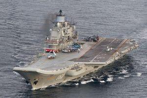 Tàu sân bay Nga vào sửa chữa, ụ nổi bất ngờ... chìm