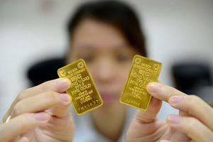 Vàng SJC quanh quẩn mốc 36,5 triệu đồng