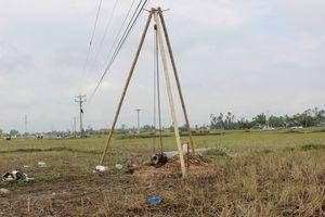 Sau sự cố 4 người tử vong, EVN nêu quy định thi công gần đường dây điện