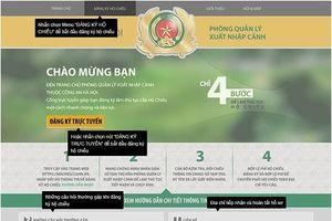 Cách đăng ký làm hộ chiếu online tại Hà Nội, TP.HCM