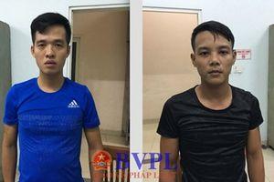Bắt giữ người trái pháp luật, nhóm 5 thanh niên bị bắt giữ