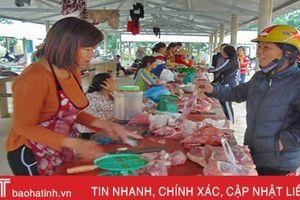 Người dân Hà Tĩnh ưa dùng thịt lợn mạ, nhưng thực sự có an toàn?
