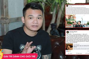 Sau status chửi bậy thô tục, Khắc Việt: 'Tôi không bao giờ xin lỗi những kẻ đánh hội đồng em tôi'