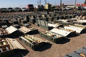 Syria: Phát hiện bất ngờ trong kho vũ khí khổng lồ của phiến quân ở gần cao nguyên Golan